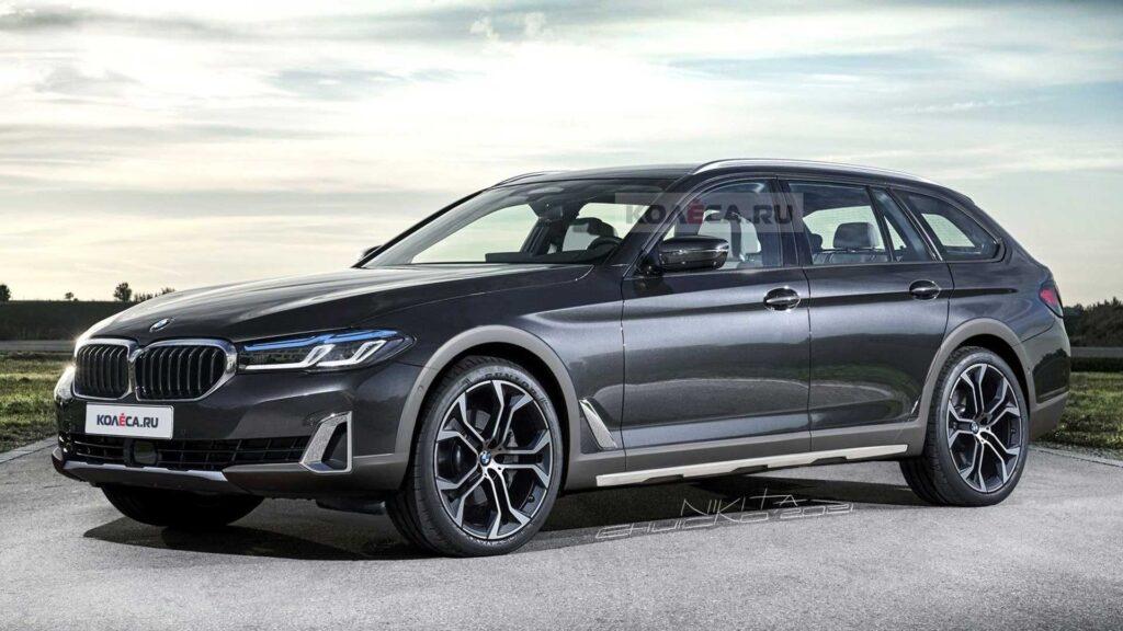 BMW serii 5 w wersji… Allroad, czyli nieistniejący konkurent Audi