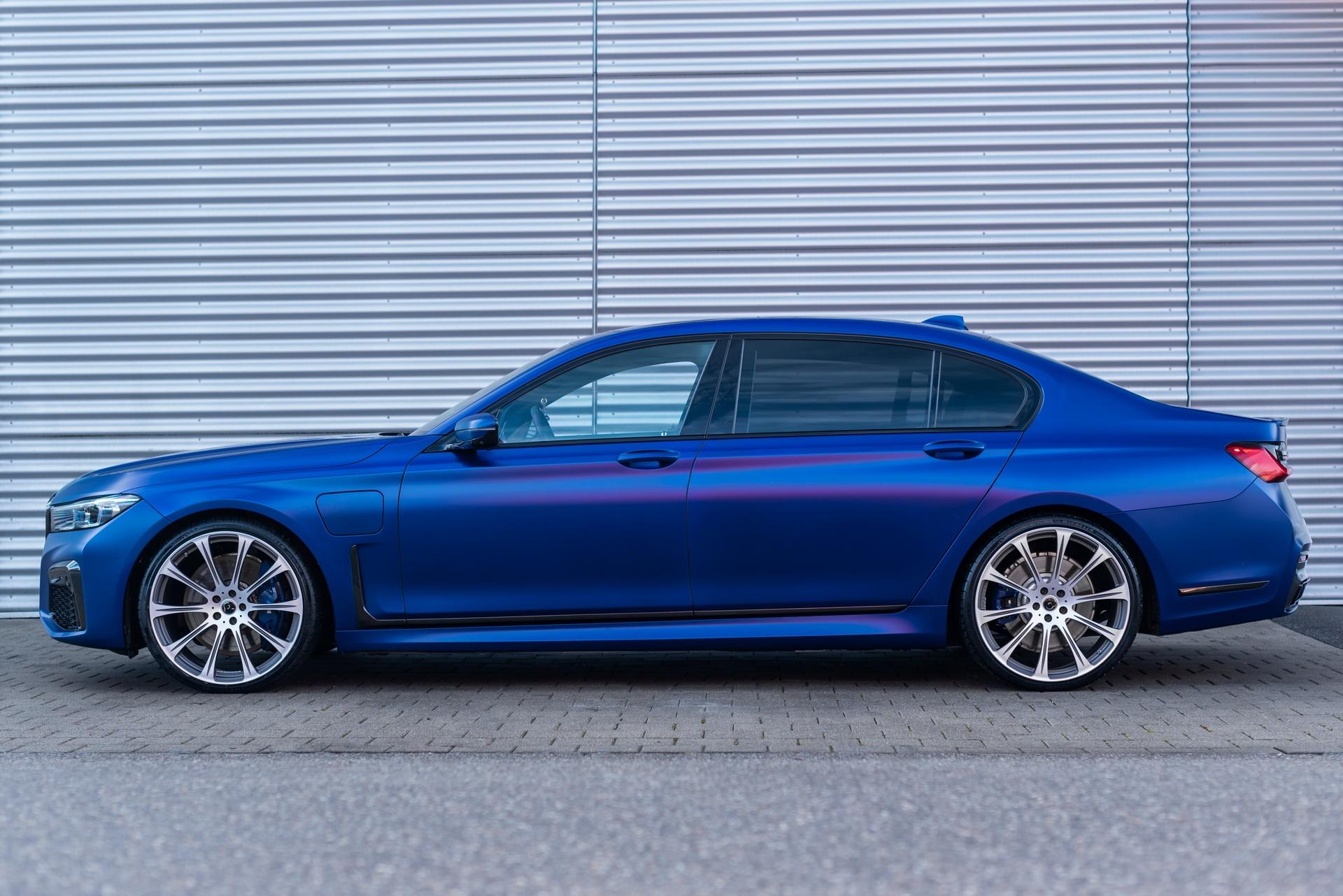 BMW 745Le xDrive po tuningu