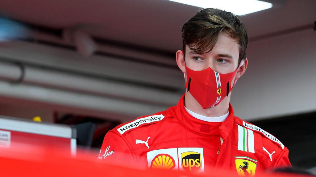 Callum Ilott weźmie udział w wyścigach aut GT w barwach Ferrari