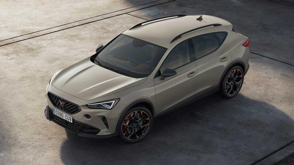 Cupra Formentor VZ5 zaprezentowana – silnik od Audi i tylko 7000 sztuk