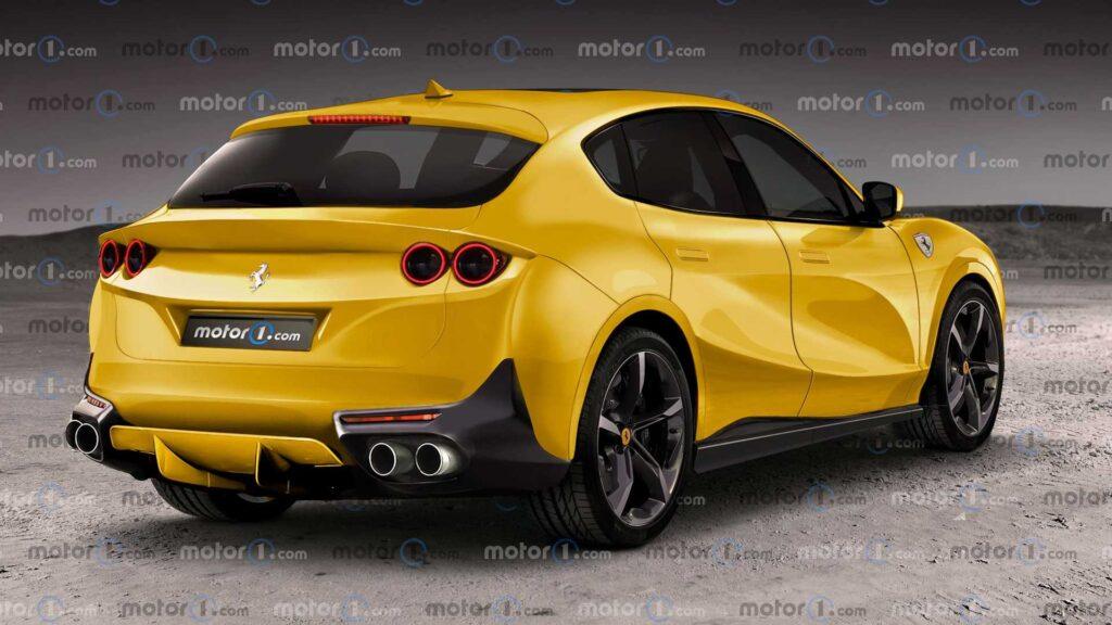 Ferrari Purosangue nadchodzi – tak może prezentować się nowy model włoskiego producenta