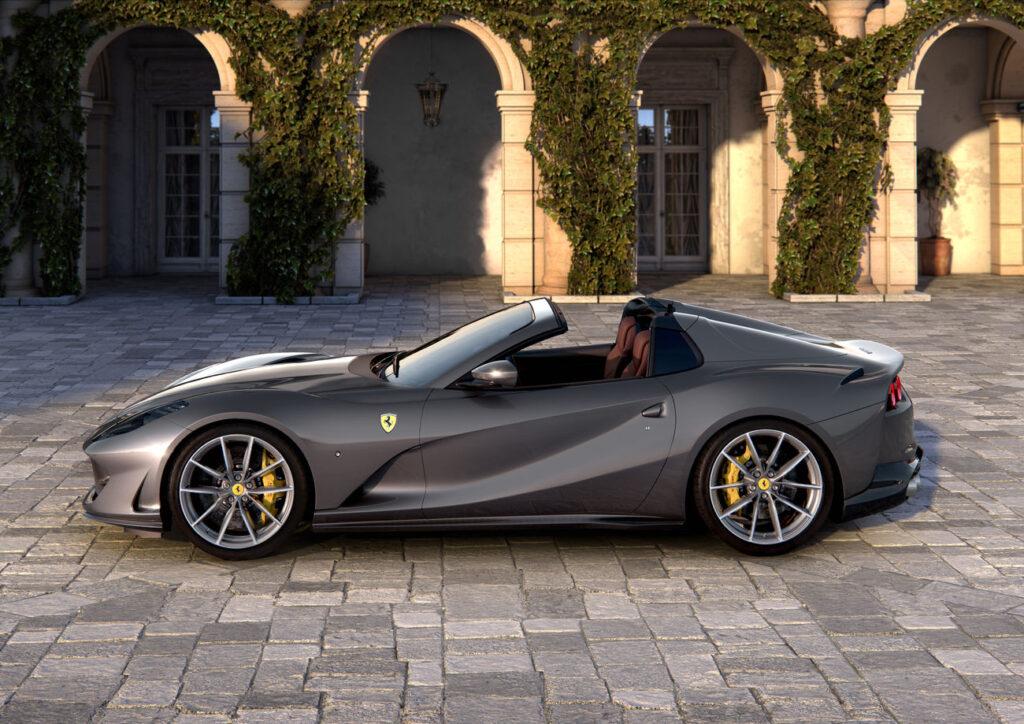Ferrari 812 GTO Aperta może zostać ostatnim modelem włoskiego producenta z wolnossącym V12