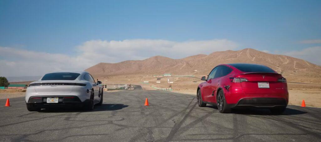 Porsche Taycan staje do wyścigu z Teslą Model Y – który elektryk lepszy?