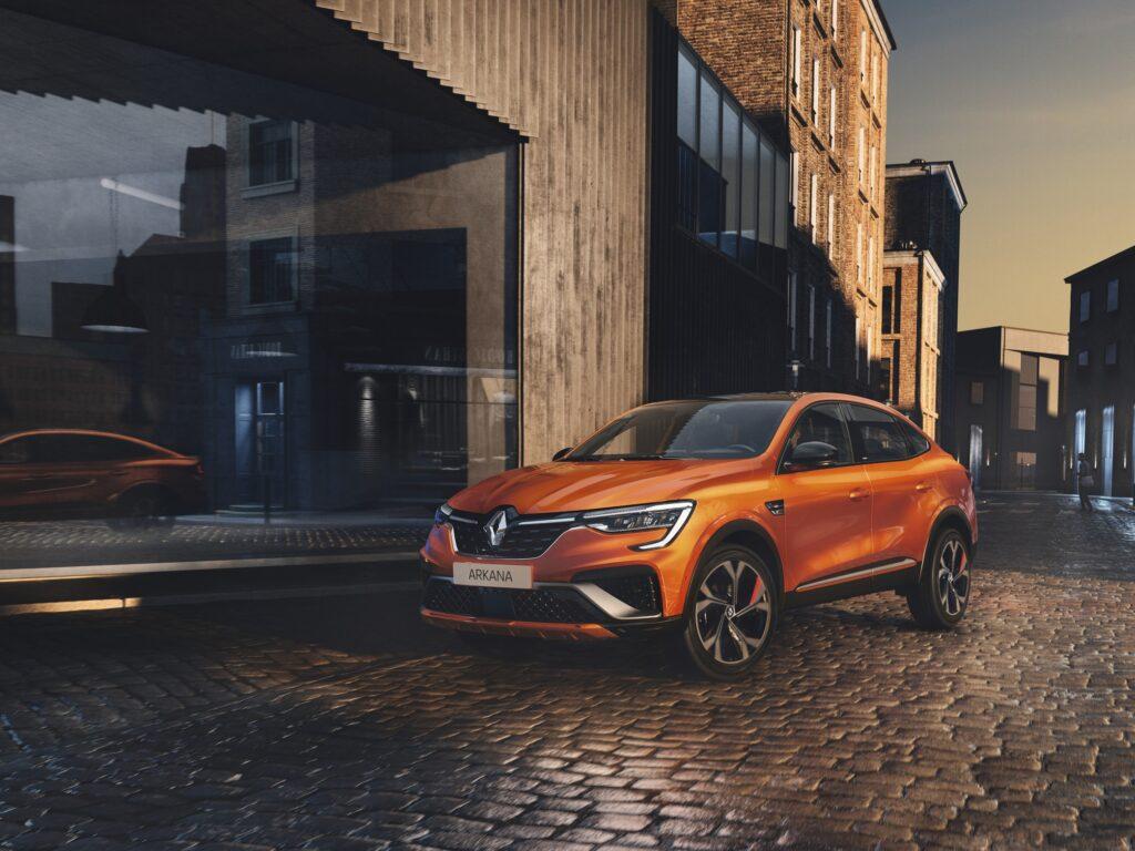 Nowe Renault Arkana uzyskało 5 gwiazdek w teście Euro NCAP