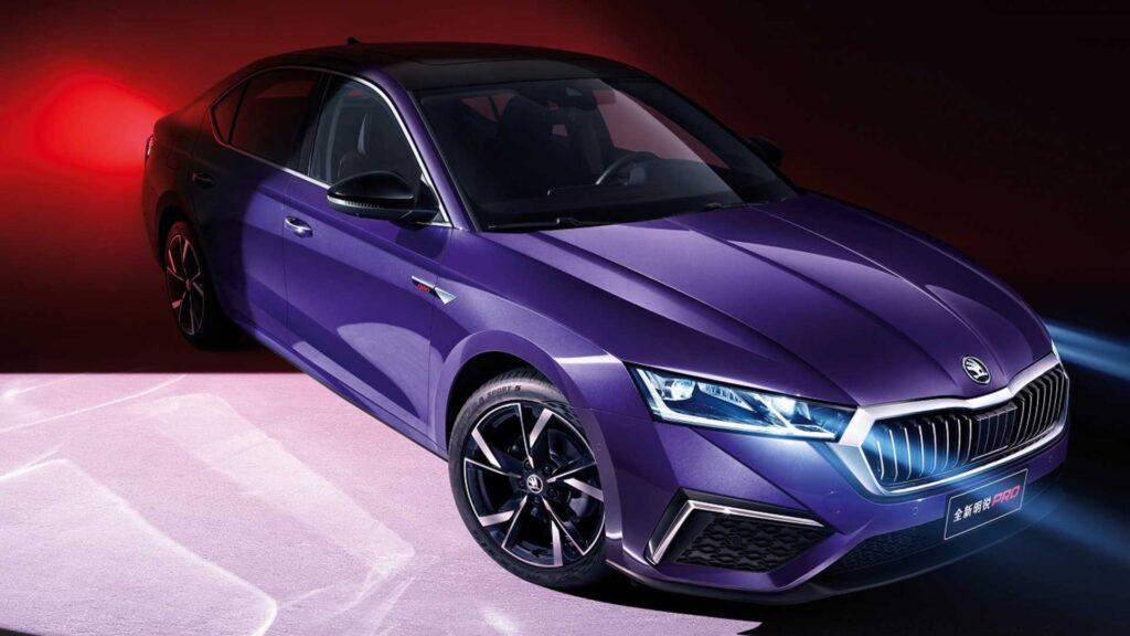 Skoda Octavia Pro ma podbić chiński rynek małych wydłużonych sedanów