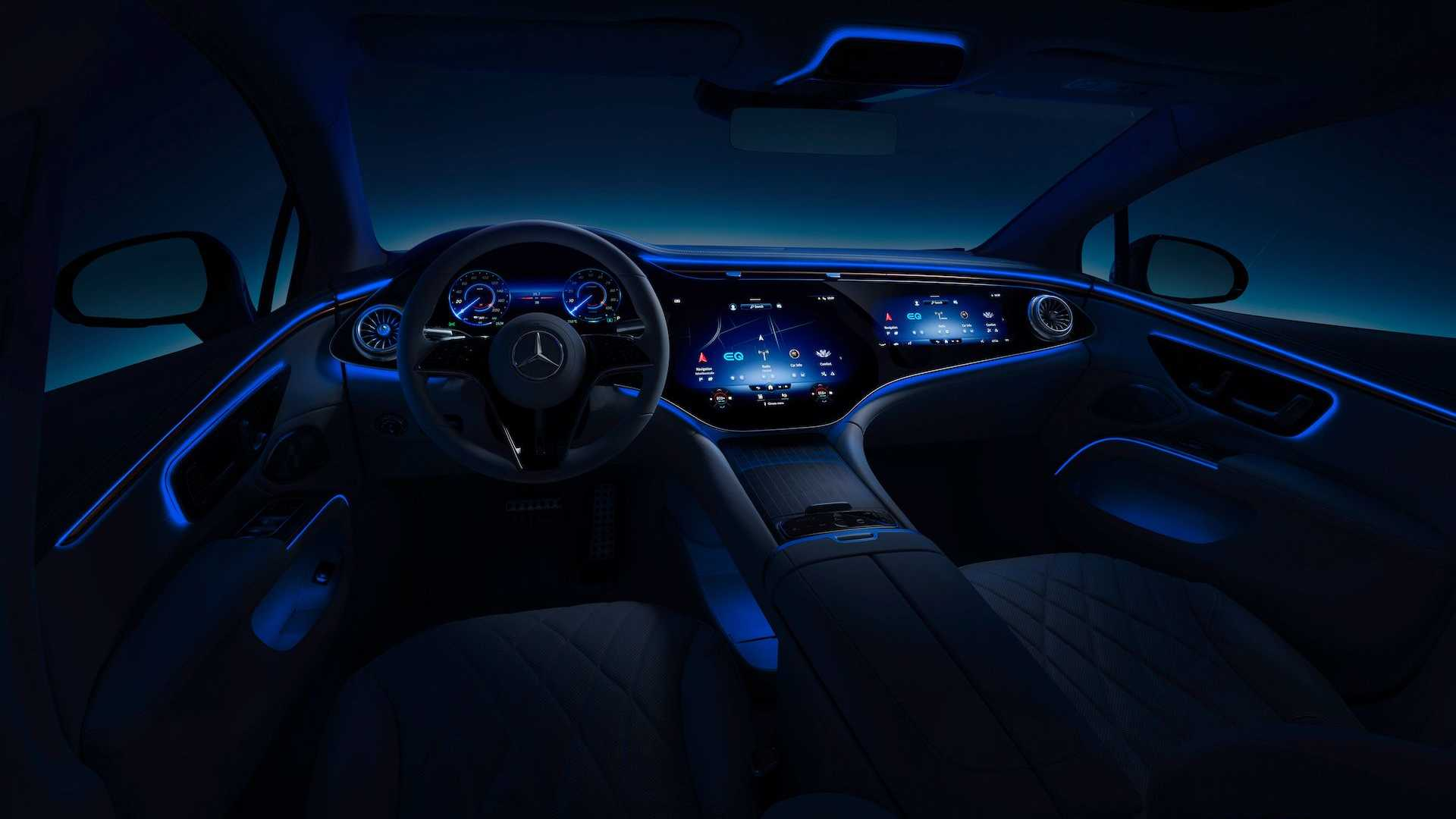 Mercedesa EQS