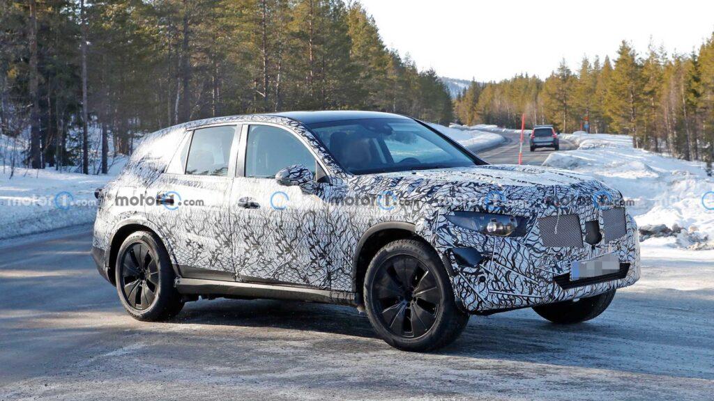 Nowy Mercedes GLC zauważony podczas testów – idą spore zmiany