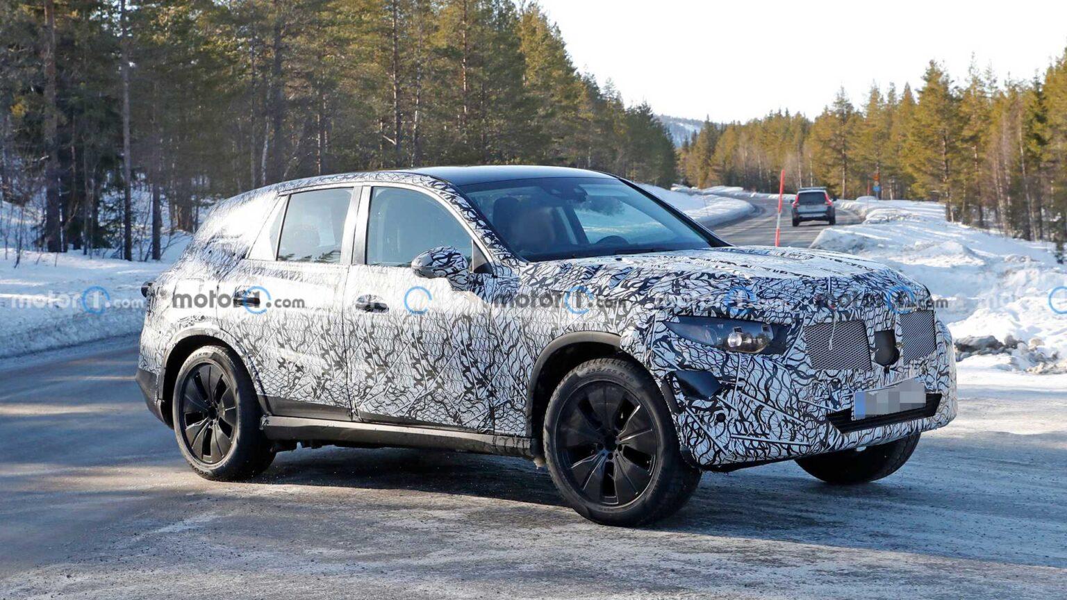 Nowy Mercedes GLC zauważony podczas testów - idą spore zmiany