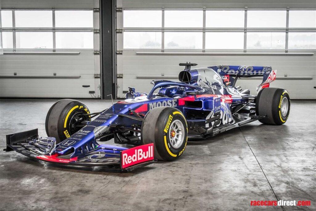 Toro Rosso STR14, którym Gasly zdobył podium, wystawione na sprzedaż
