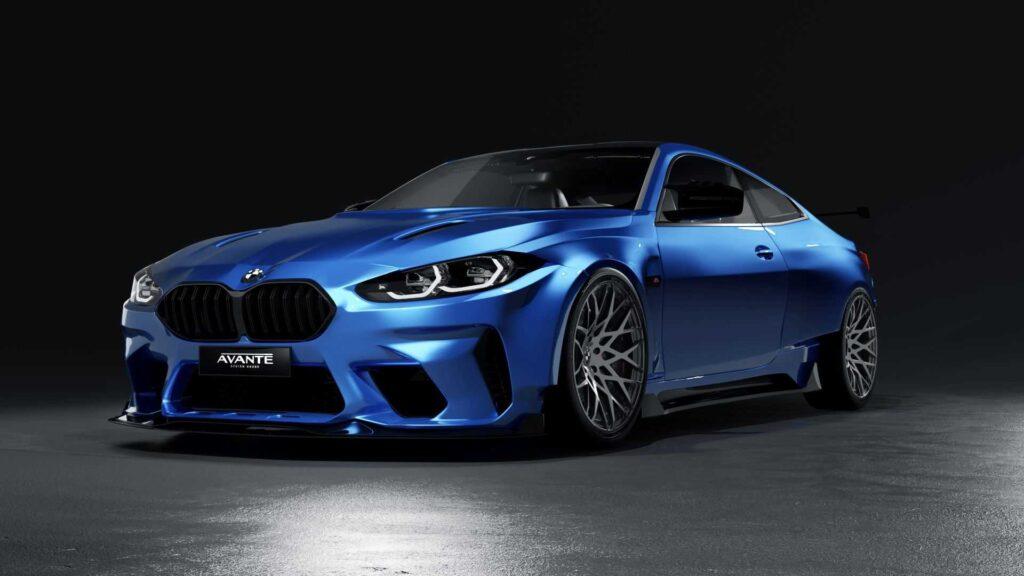 Avante Design prezentuje swoją wizję bodykitu do nowego BMW M4