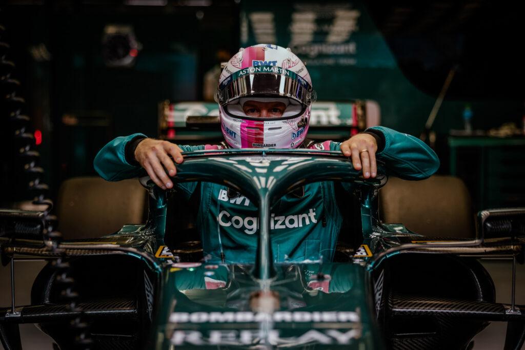 Sebastian Vettel ma problemy z adaptacją do prowadzenia Astona Martina