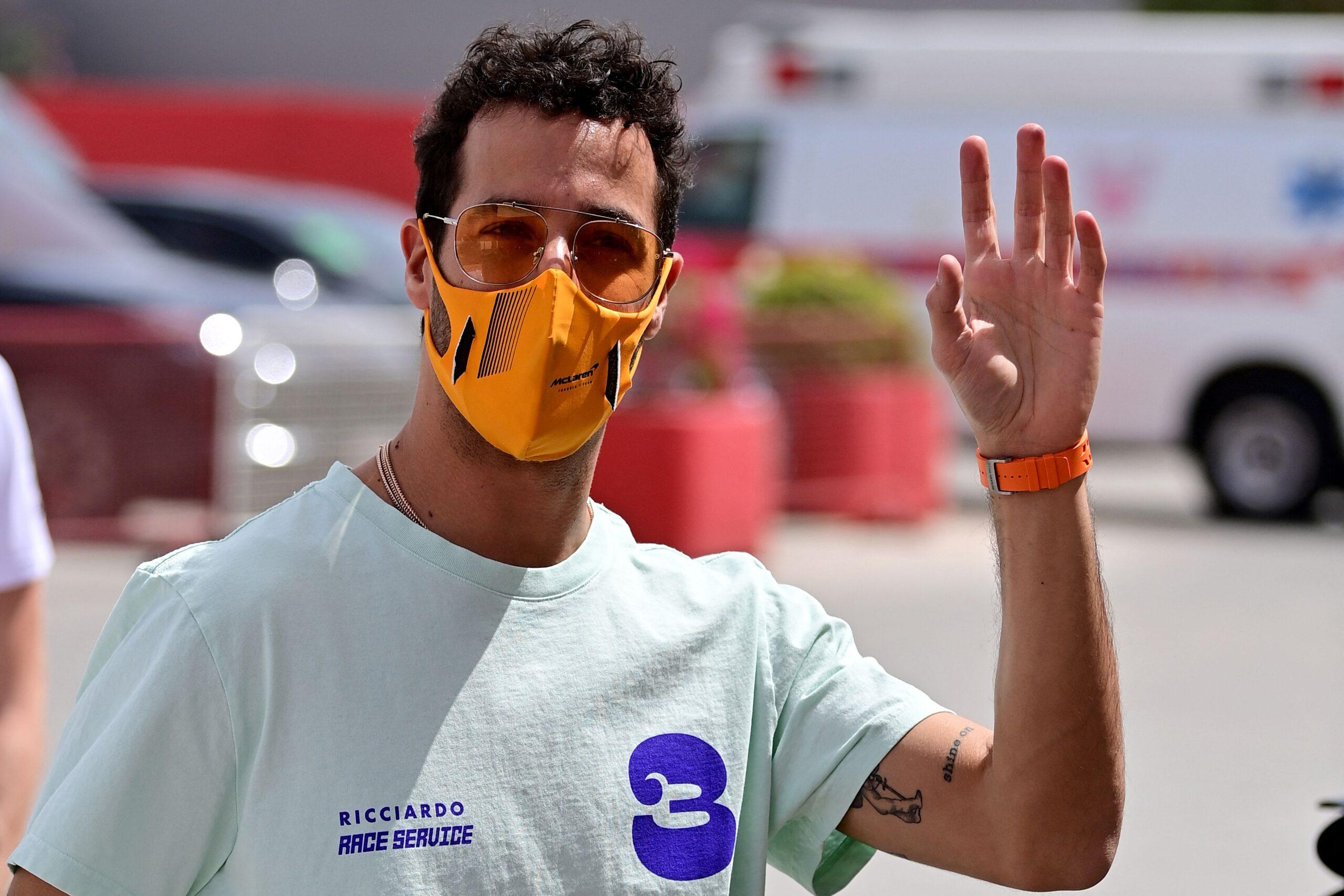 Grand Prix Bahrajnu Ricciardo