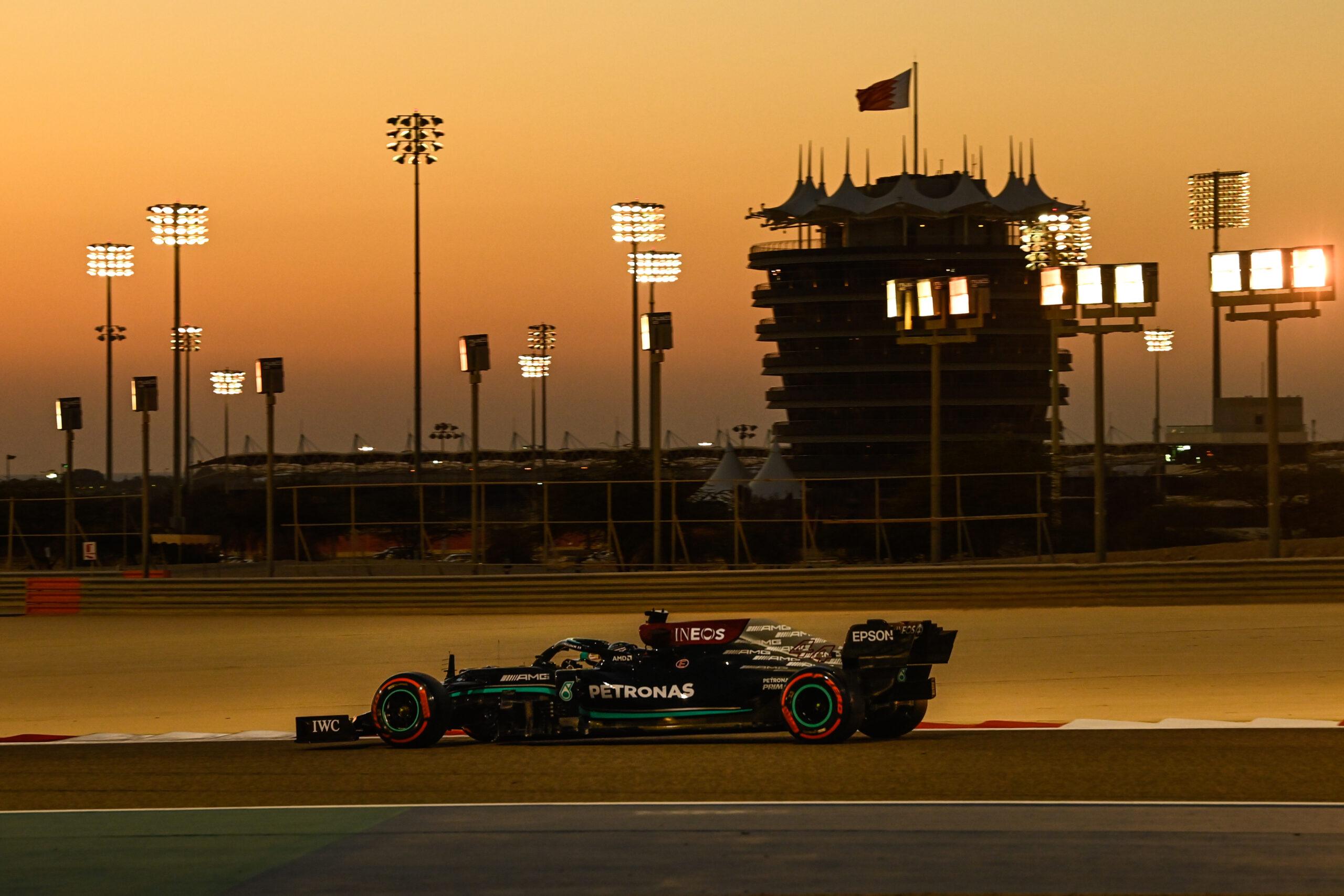 Mercedes F1 Bahrain 2021