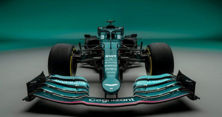 Aston Martin Cognizant pokazał swój bolid na sezon 2021