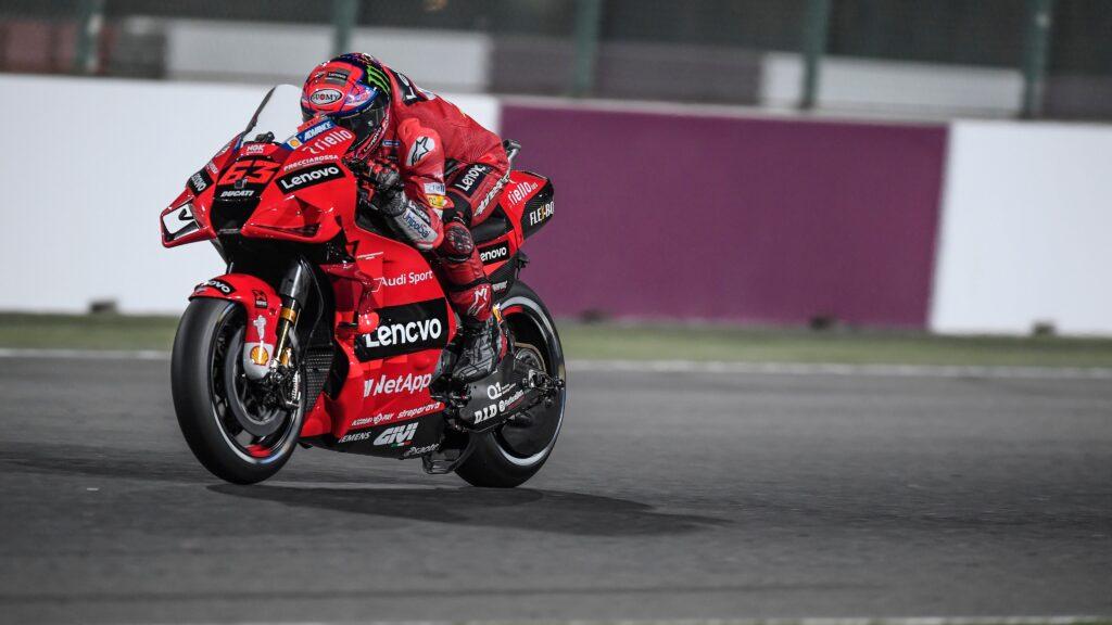 Pecco Bagnaia z premierowym Pole Position przed GP Kataru!
