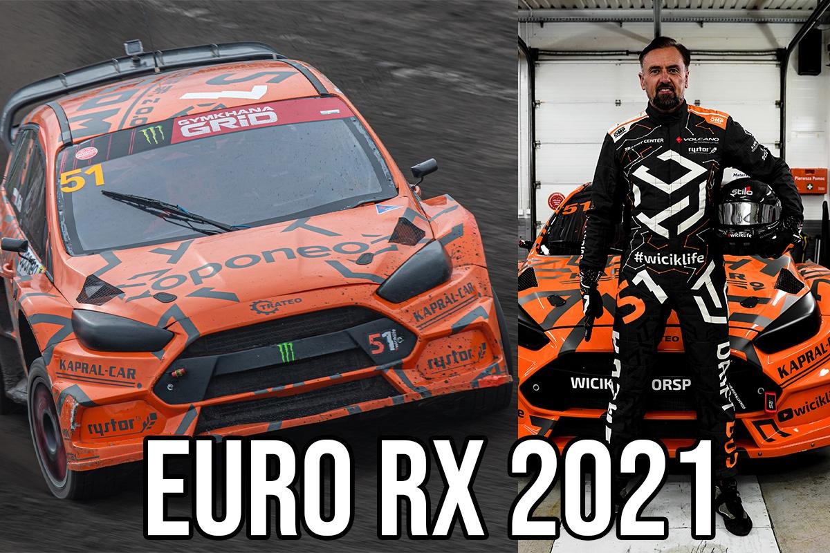 Marcin Wicik w Mistrzostwach Europy Rallycross!