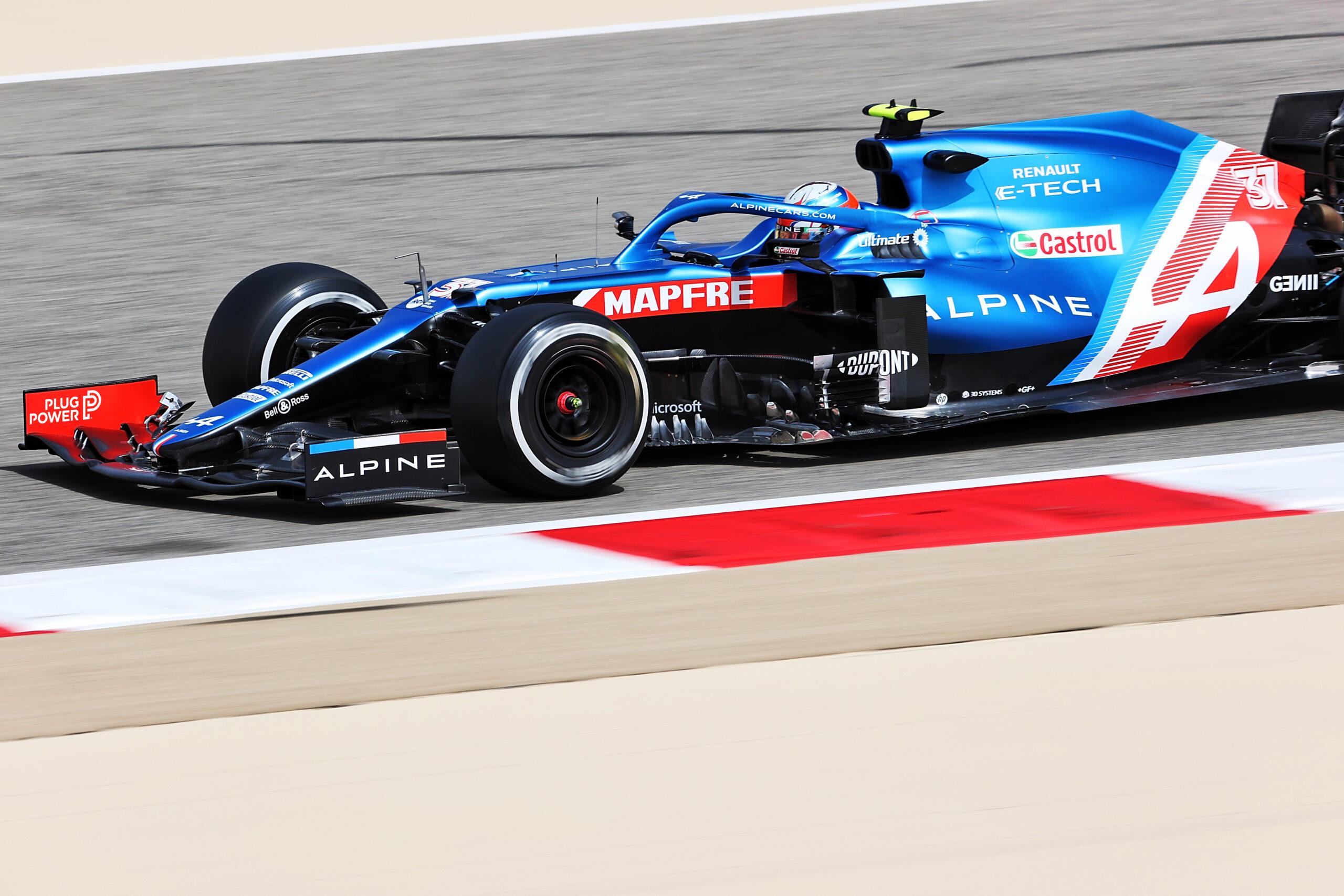 Red Bull Racing Alpine F1 Bahrain