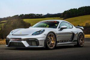 Porsche 718 Cayman GT4 otrzymuje pakiet tuningowy od Manthey Racing