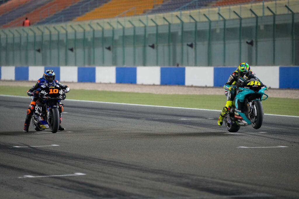 Drugie testy MotoGP w Katarze zakończone, padok zostaje na Losail
