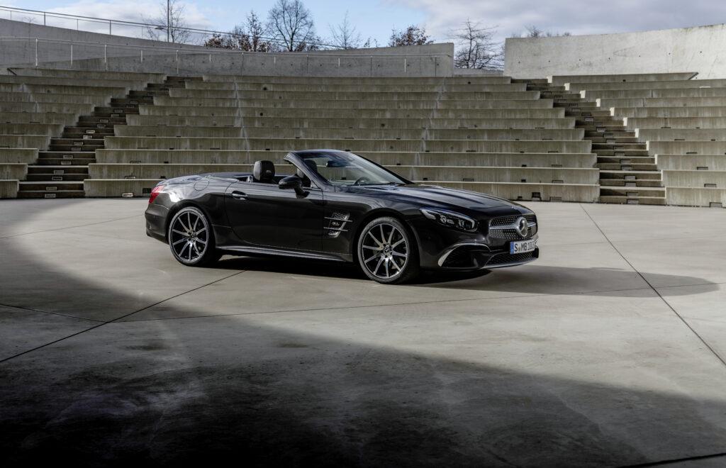 Nowa generacja Mercedesa SL AMG zastąpi model AMG GT Roadster