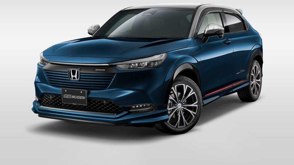 Nowa Honda HR-V otrzymała pakiet stylistyczny dodający nieco sportowego charakteru od tunera Mugen