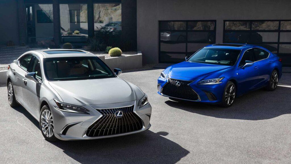 Lexus ES FACELIFT oficjalnie zaprezentowany – sporo zmian