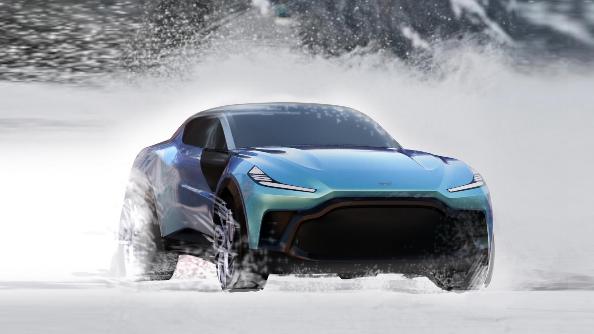 SUV od Astona Martina