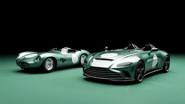 Aston Martin z nowym malowaniem dla modelu V12 Speedster