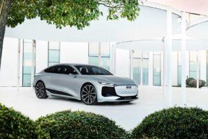 Audi A6 E-Tron Concept zaprezentowany jako elektryczny Sportback