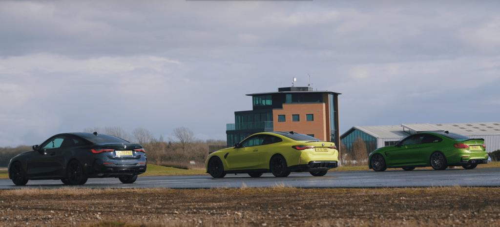 Nowe BMW M4 staje w pojedynku z poprzednikiem, a także z M440i