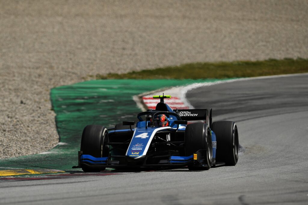 Formuła 2 ponownie na testach – Felipe Drugovich z najlepszym czasem