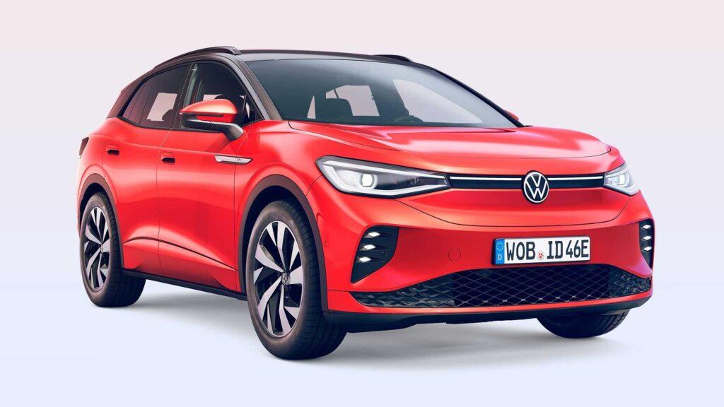 Volkswagen ID.4 GTX zaprezentowany jako sportowe wcielenie elektryka