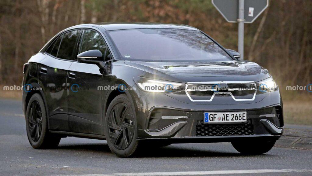 Volkswagen ID.5 zauważony podczas testów – kolejny elektryk w gamie