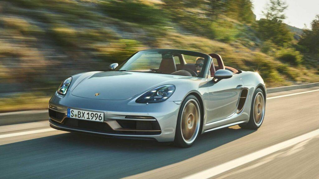 Już wkrótce zobaczymy elektryczny koncept Porsche Boxster