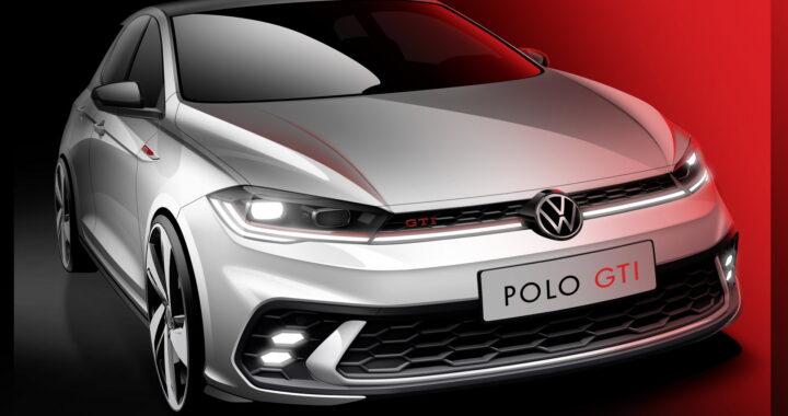 Szkic nowego Volkswagena Polo w wersji GTI zaprezentowany