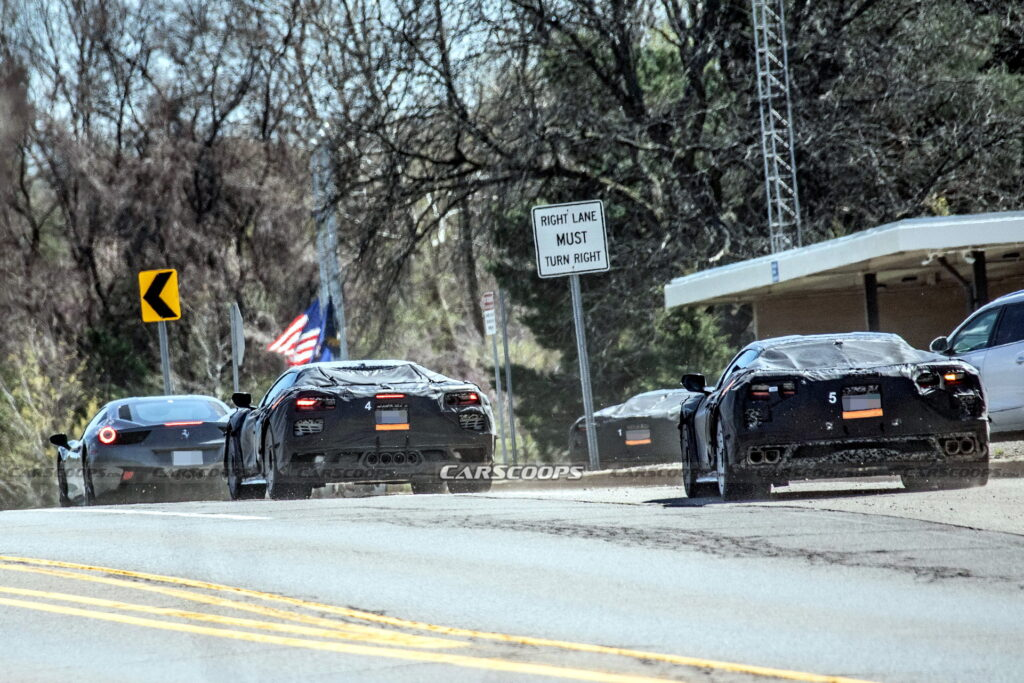 Chevrolet porównuje Corvette w wersjach Z06 i ZR1 z Ferrari 458 i Porsche 911 GT2 podczas testów