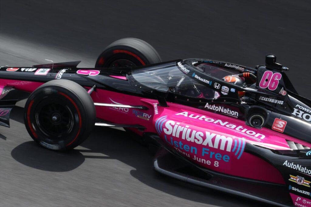 Hélio Castroneves triumfatorem Indianapolis 500 po raz czwarty w karierze