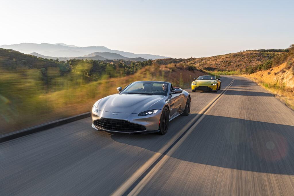 Aston Martin planuje wycofać ze swojej oferty wersje z manualnymi skrzyniami biegów