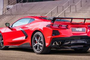 Corvette C8 otrzymała pakiet stylistyczny i nowy układ wydechowy od niemieckiego tunera