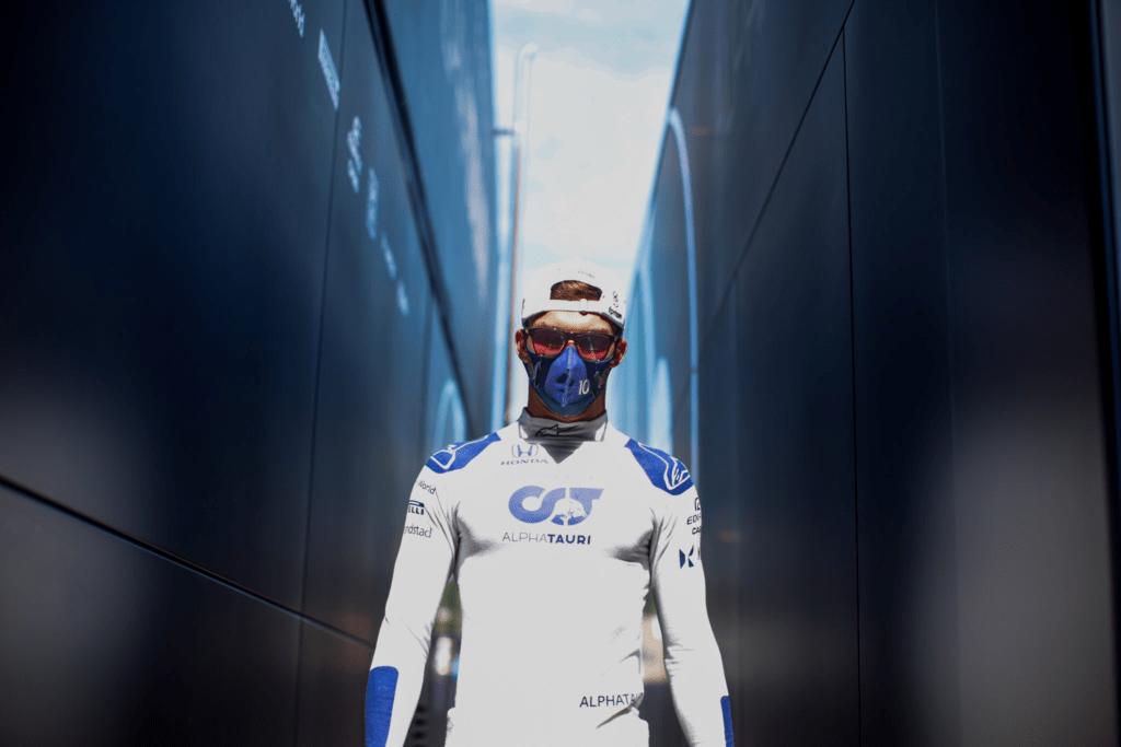 Pierre Gasly wściekły na swój błąd na starcie Grand Prix Hiszpanii