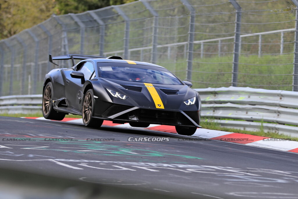 Lamborghini próbuje pobić rekord Nurburgringu za pomocą Huracana STO