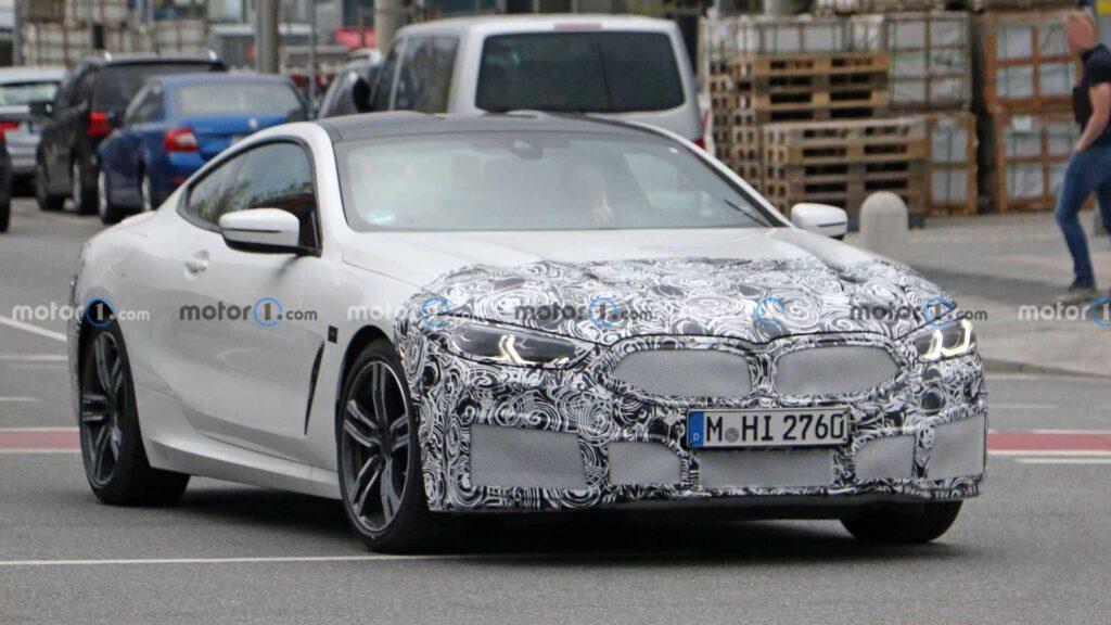 Zmodernizowane BMW serii 8 podczas testów – lifting już wkrótce