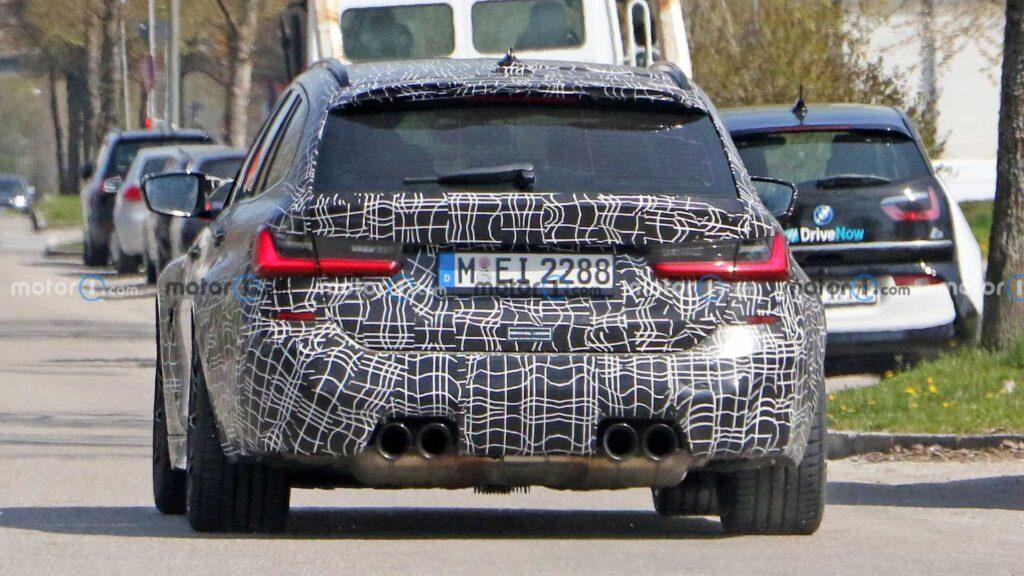 BMW M3 w wersji Touring zauważone podczas testów na drogach publicznych