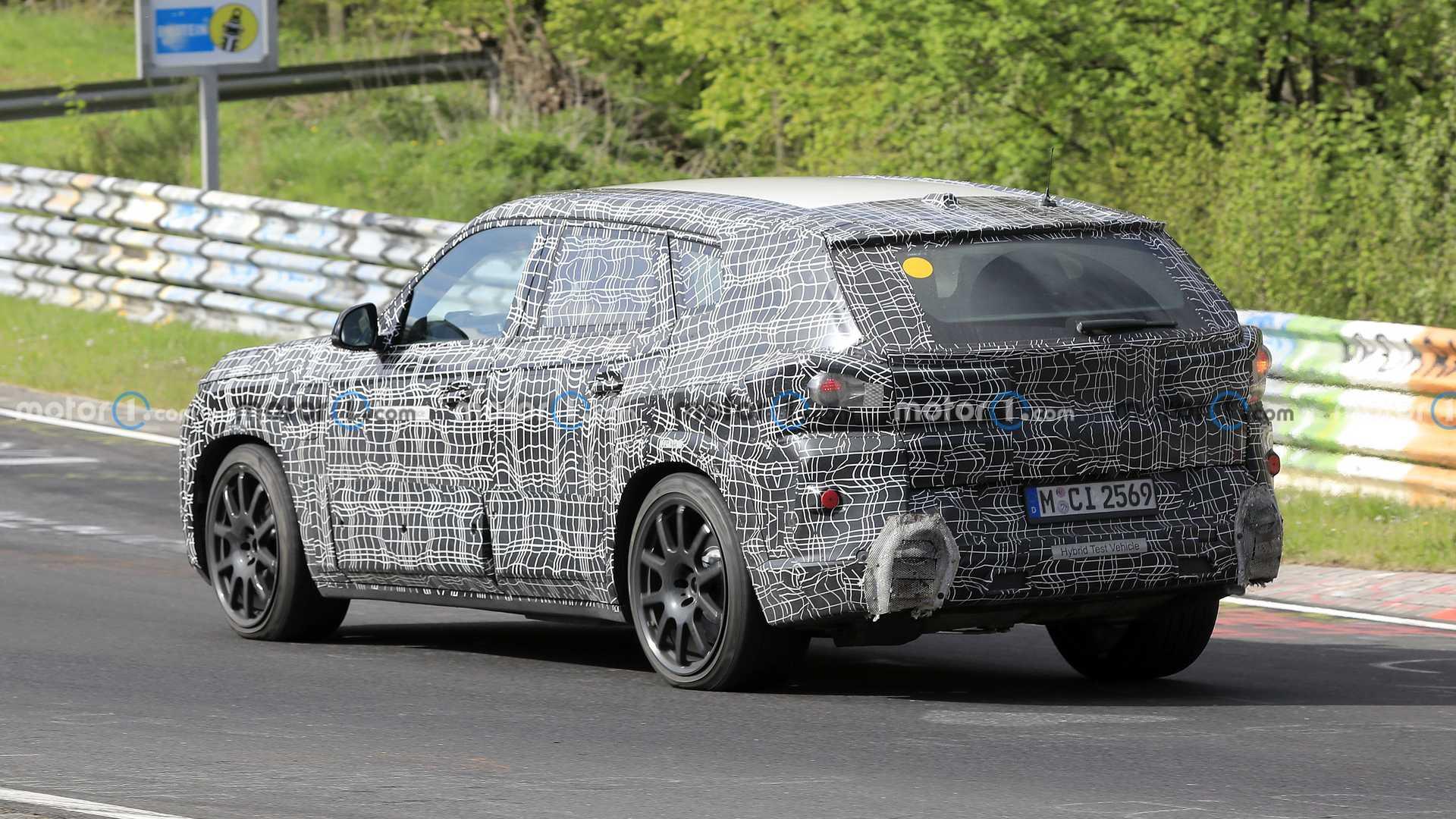 BMW X8 w wersji hybrydowej