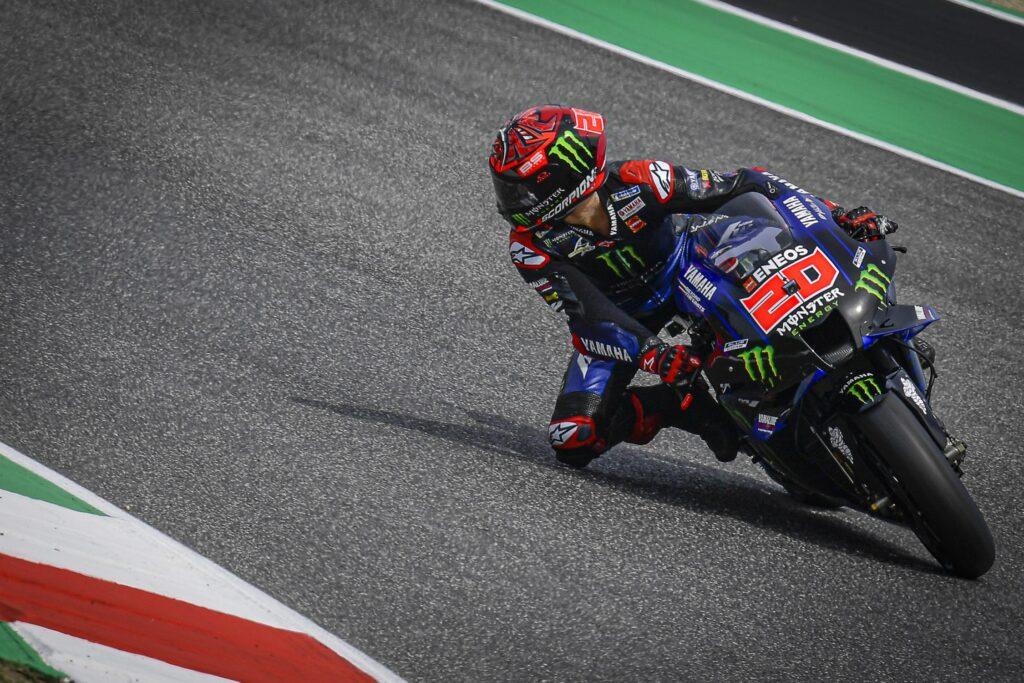 Fabio Quartararo zwycięzcą żałobnego Grand Prix Włoch MotoGP