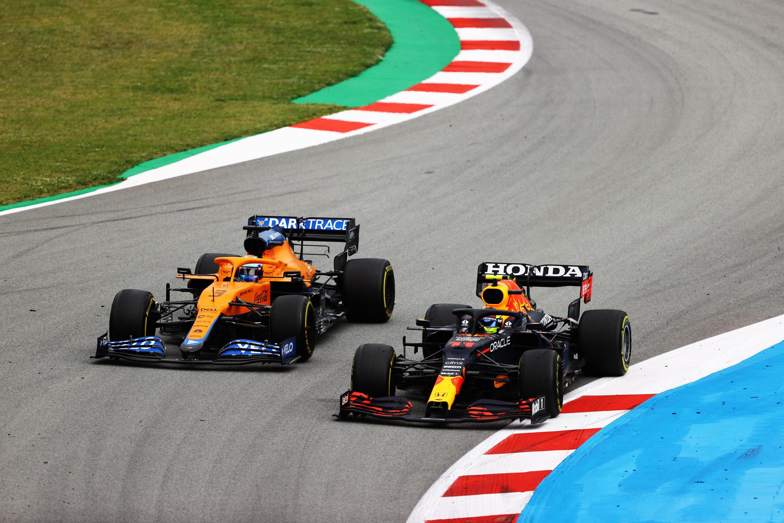Sergio Perez, Daniel Ricciardo