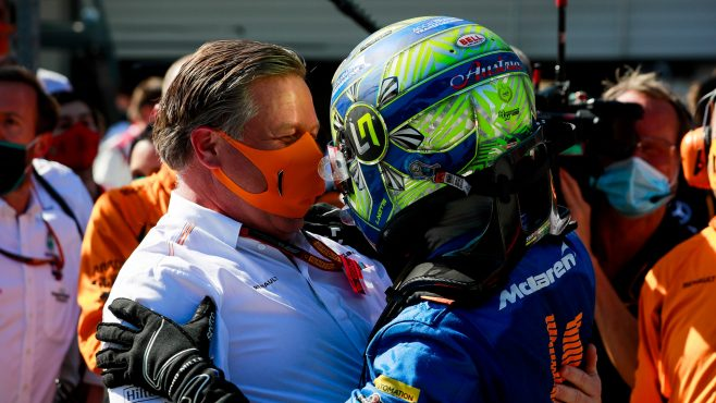 Lando Norris podpisuje z McLarenem wieloletni kontrakt