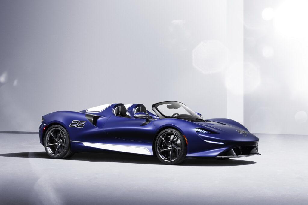 McLaren ogranicza produkcję modelu Elva do 149 sztuk, w zamian dorzuca jednak coś ekstra