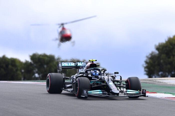Valtteri Bottas wygrywa kwalifikacje do GP Portugalii