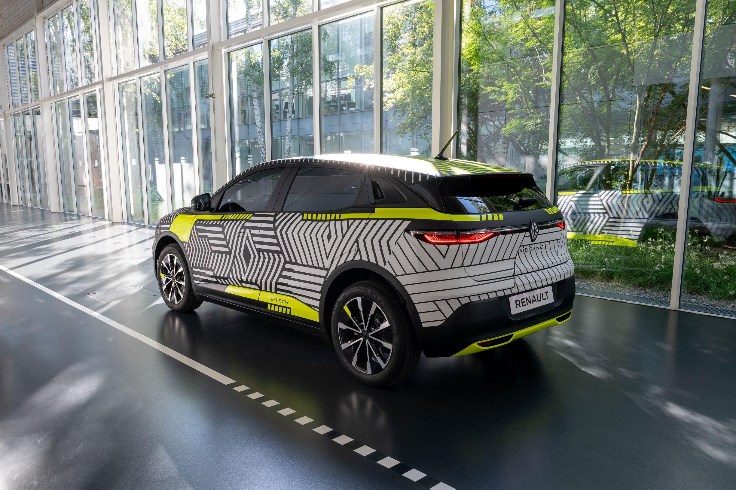Nowe Renault Mégane E-Tech Electric